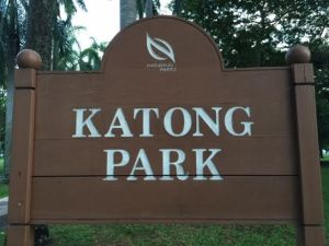 Katong Park Sign
